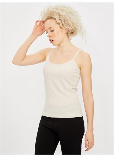 Vekem-Limited Edition İp Askılı Bluz Taş
